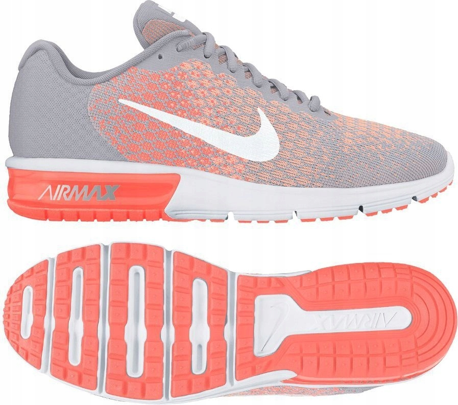 Nike Buty damskie Air Max Sequent 2 szare r. 36 (8