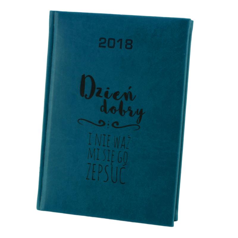 Kalendarz Terminarz 2018 A5 Dzienny Grawer Logo 7043339384 Oficjalne Archiwum Allegro