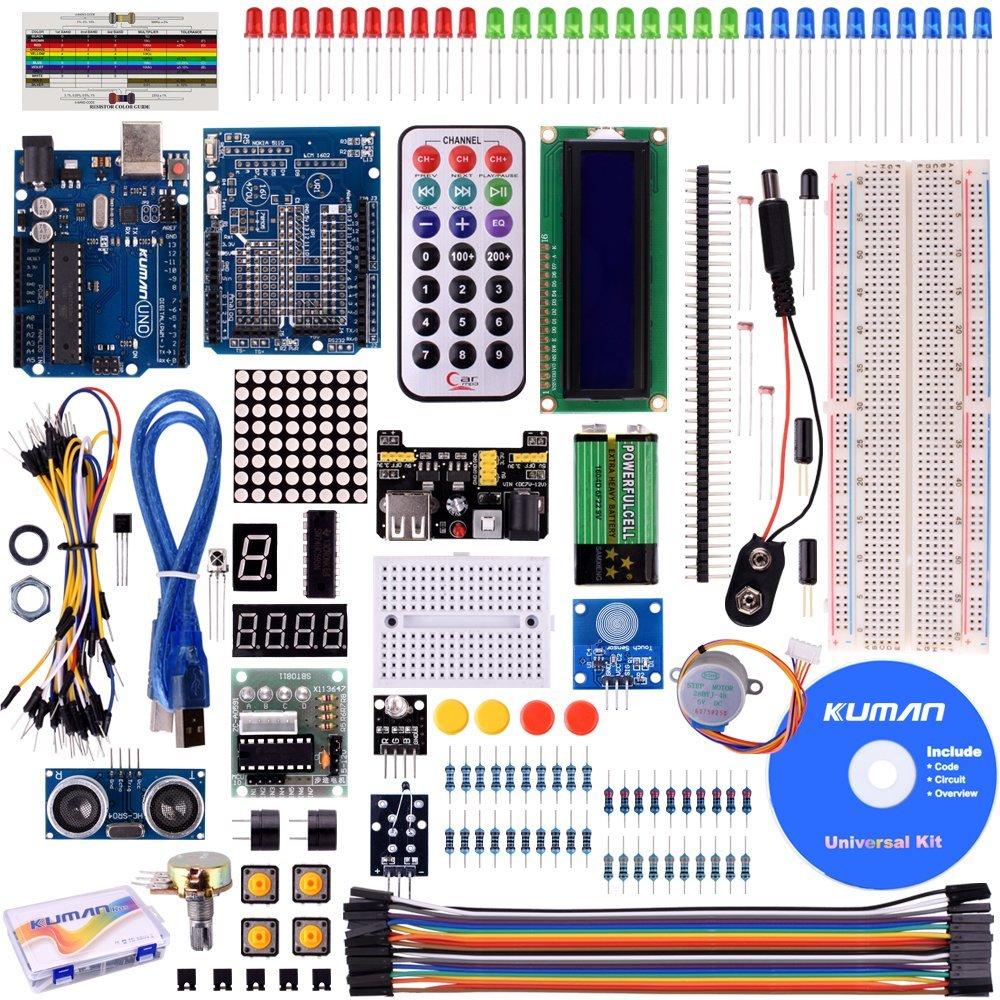 F56 Kuman Project Super Starter Kit Dla Arduino R3