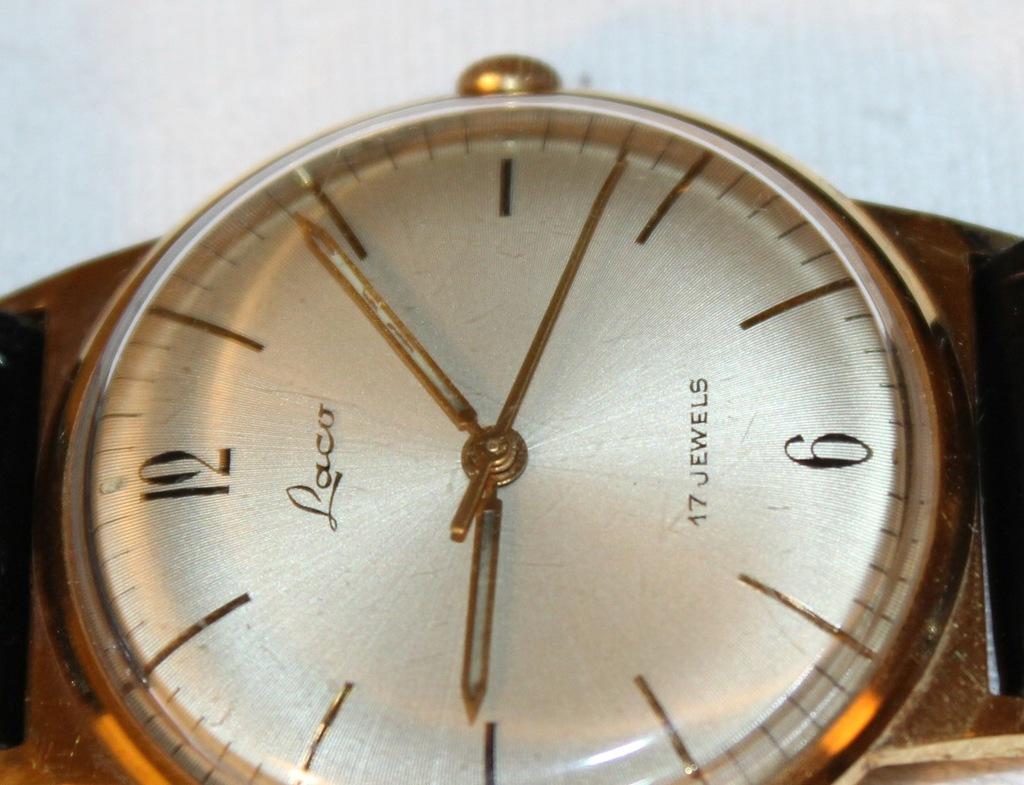 LACO zegarek mechaniczny męski naręczny sprawny 7649295694