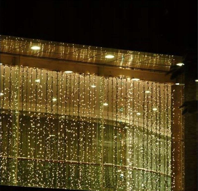 Swiateczne Oswietlenie Swiecaca Kurtyna 3x6 M 7625229632 Oficjalne Archiwum Allegro
