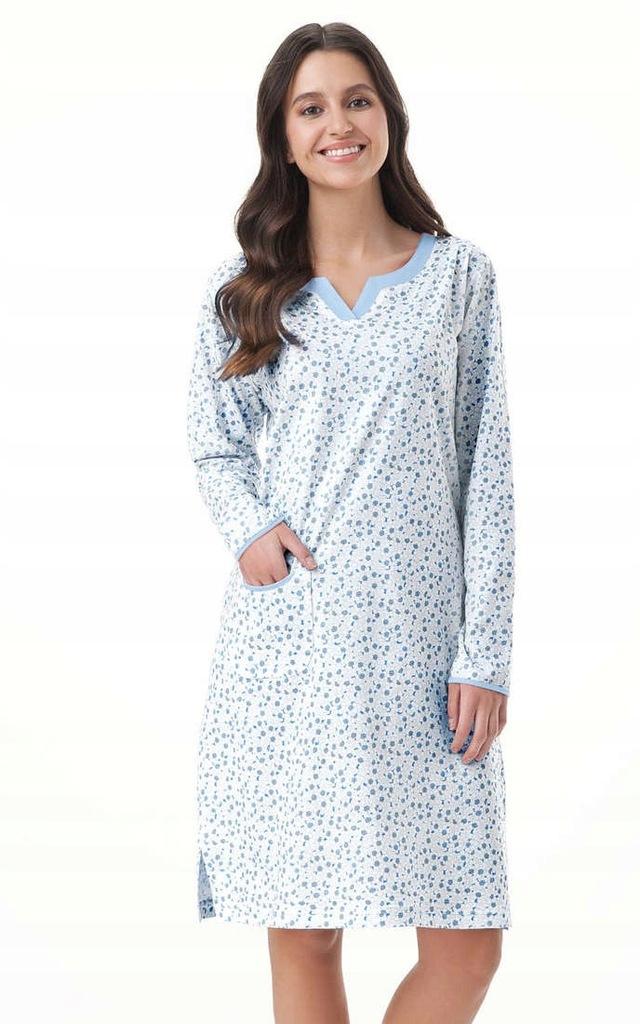 Koszula Luna 006 XL, różowy 7520047602 oficjalne  ROgBY