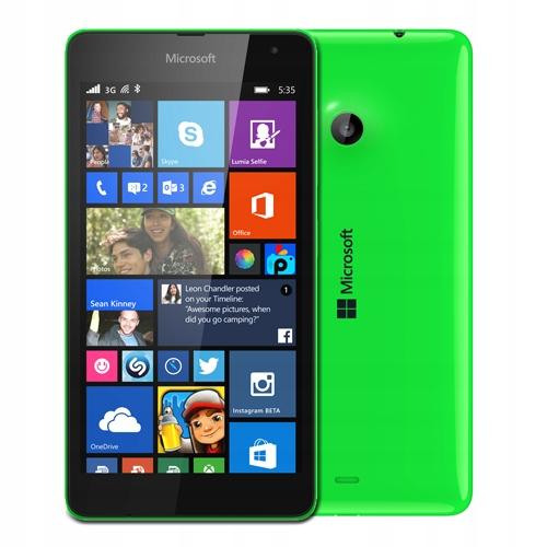 Nokia Lumia 535 Zielona Bez Simlocka 7466552415 Oficjalne Archiwum Allegro
