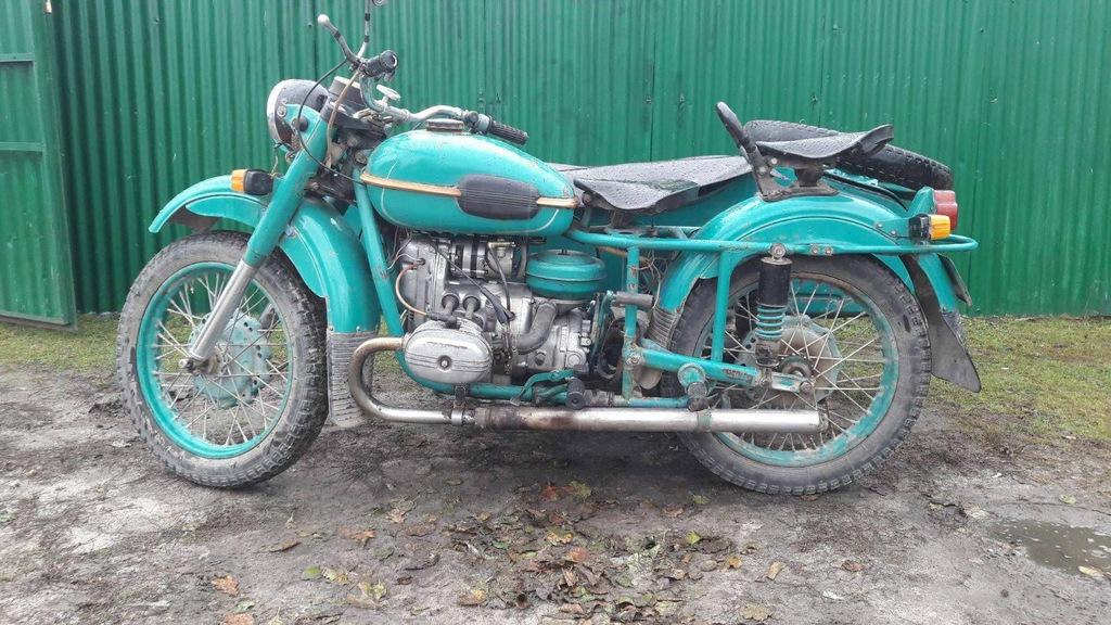 Ural M67 dniepr k 750 motocykl z koszem, sidecar.