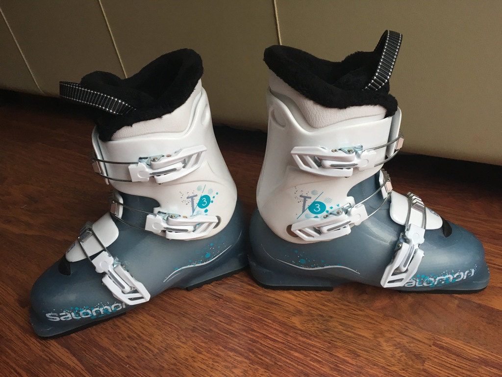 Buty narciarskie SALOMON T3 GIRLIE RT roz. 24