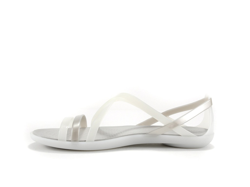 Crocs Isabella Strappy Sandal Oyster White (36,5)