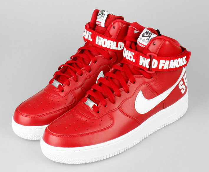 Nike Air Force One High Supreme 698696 610 Roz 40 6950720322 Oficjalne Archiwum Allegro