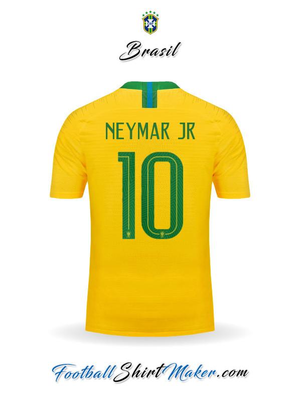 Koszulka Brazylia Dom Mundial 2018 L Nadruk 7330875926 Oficjalne Archiwum Allegro