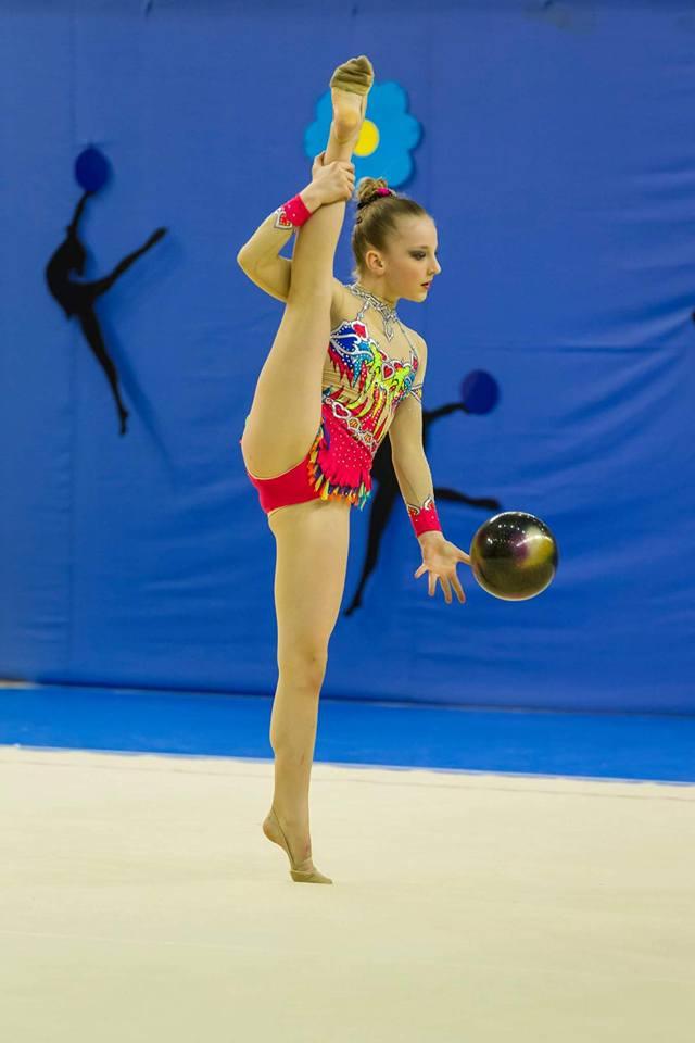 Strój do gimnastyki artystycznej 134-146