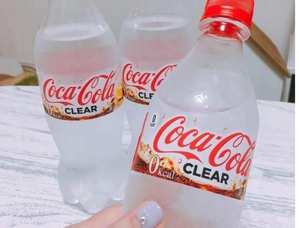 Coca Cola Clear Przezroczysta 0 Kcal Japan 7490095912 Oficjalne Archiwum Allegro