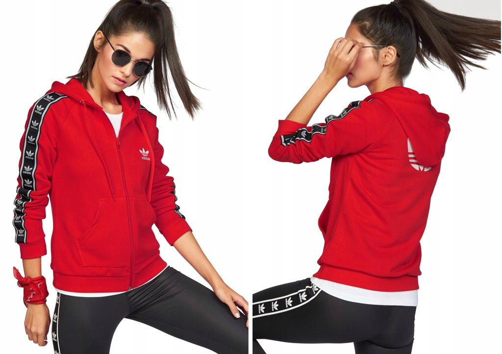 Adidas Slim FZ bluza sportowa damska 38 ( SM )