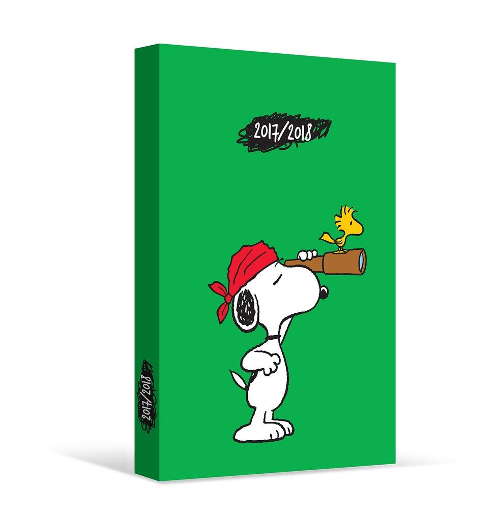 Kalendarz Ksiazkowy Snoopy 2017 2018 6927586069 Oficjalne Archiwum Allegro