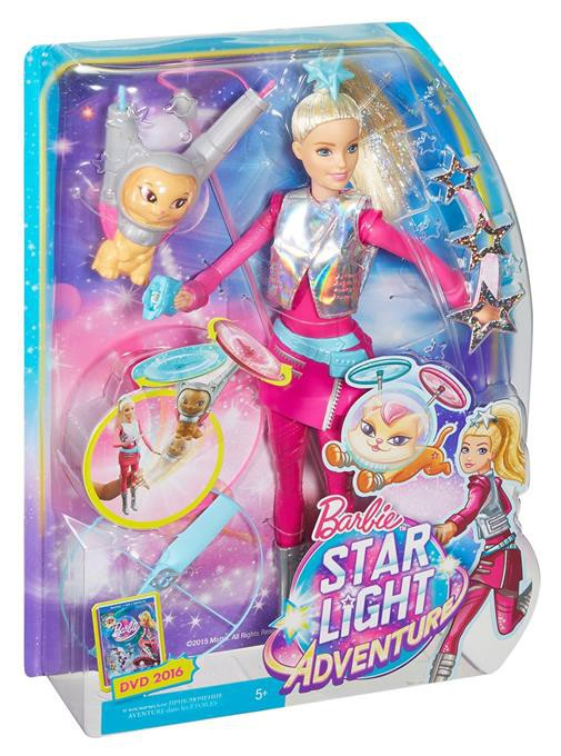 Barbie Gwiezdna Przygoda Barbie I Latajacy Kotek 6842286990 Oficjalne Archiwum Allegro