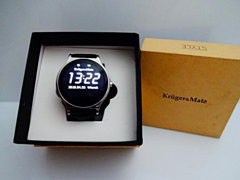 Smartwatch Zegarek Kruger&Matz Style Czarny