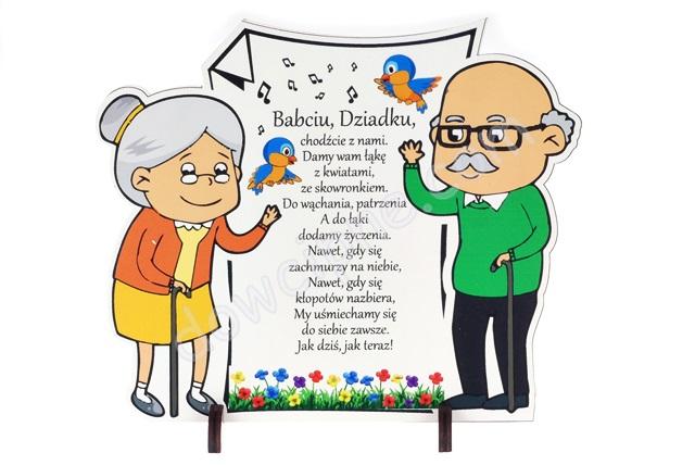 Deseczka I Wierszyk Dla Dziadków Dzień Babci B995