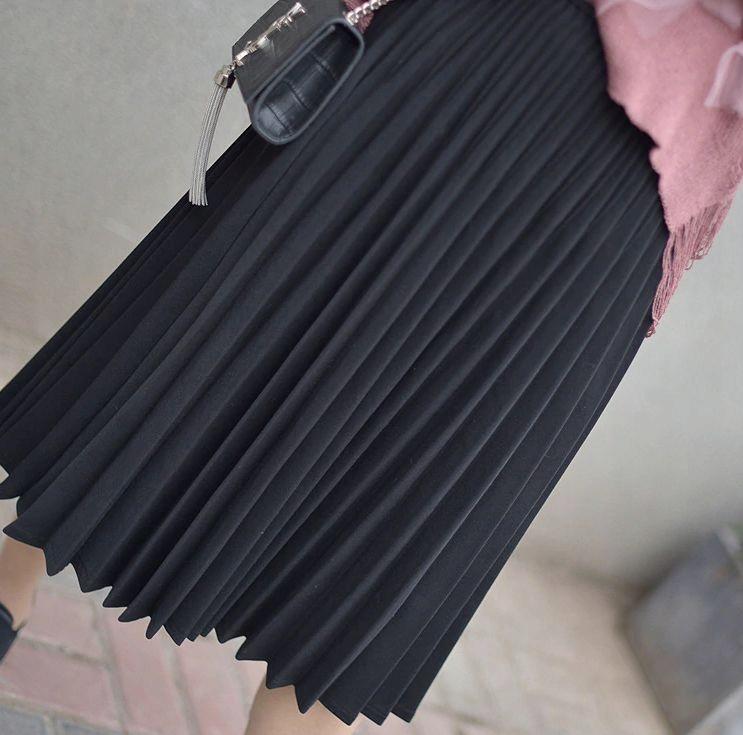 Spódnica plisowana elegancka kolory wyprzedaż %