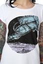 T-shirt damski Twardowsky Skok Legendy Polskie XXS Kolor biały