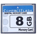 Karta pamięci Compact Flash CF 8GB nowa + gratis ! Model CF8GB
