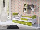 Łóżko łóżka parterowe 1 osobowe AURORA - NOWOŚĆ!!!