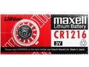 BATERIA LITOWA MAXELL CR1216 1216 DL ECR - SZYBKO