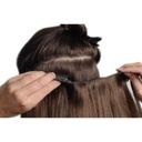 60cm Dopinki treska włosy naturalne CLIP IN sz15cm