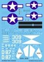 1:32 Kalkomania TBM-3 Avenger TECHMOD 32017