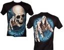 Koszulka świecąca DEMON ROCK EAGLE GW100 S - XXL