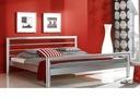 Łóżko metalowe nowoczesne LOMAX 160x200 Producent
