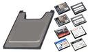 Adapter czytnik kart Compact Flash na PCMCIA WaWa