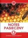 Notes pasieczny notatnik karty uli prac w pasiece