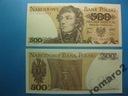 Banknot 500zł Polska ser. FY P-145d 1982 stan UNC