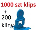 PERFECT LEVEL KLIPSY 1000szt + 200szt  KLINY