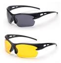 okulary sportowe UV 400 SZKŁA POLIWĘGLANOWE 2 szt