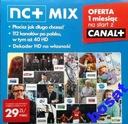 DOŁADOWANIE KART TNK HD / NNK, NC+ MIX NA 3M-CE
