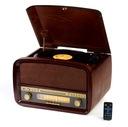 Gramofon RETRO CAMRY CR 1112 RADIO CD USB MP3 RIP