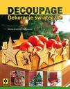 książka, poradnik: DECOUPAGE. DEKORACJE ŚWIĄTECZNE