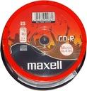 Płyta CD-R Maxell CD AUDIO Music XL-II 80min 25szt