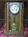 Stary kolekcjonerski zegar wiszący sprawny antyk