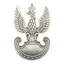 Przypinka z orłem Polskich Sił Zbrojnych