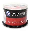 HP DVD-R 4,7 GB 16x szpindel 50 szt.