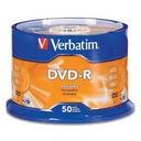 VERBATIM DVD-R 4.7 GB 50 sztuk + MARKER do OPISU