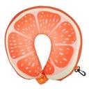 Poduszka podróżna ROGAL Memory Pillow Pomarańcza