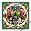 MAGNETKA (014) Polska Folklor Wycinanka Łowicka