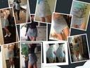 Spódnica dżinsowa damska oryginalna dziury HIT M Materiał dominujący poliester