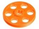 LEGO Technic Koło pasowe niezębate 4185 pomarańcz
