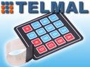 Klawiatura membranowa 4x4 Arduino AVR PIC ARM Waga (z opakowaniem) 0.03 kg