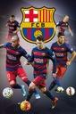 ФК Барселона Месси Неймар Иньеста - плакат 61x91,5 доставка товаров из Польши и Allegro на русском