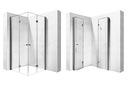 Kabina prysznicowa składana  FOLD EASY 80 90 100