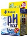TROPICAL TEST pH 6.0-7.8 NA ZASADOWOŚĆ WODY