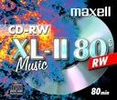 MAXELL CD-RW MUSIC  XL II  CD-R Audio 1szt